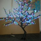 LED Christmas party Light Cherry Tree 480pcs LEDs 5FT Height RGB Changing Color