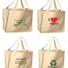 4 Pack- Reusable Shopping Bags (Set of 4 Bags)