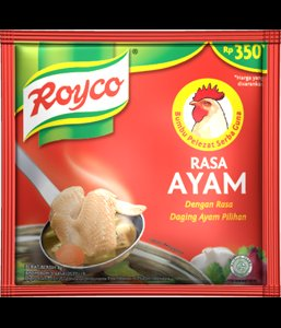 Royco Bumbu Pelezat Serbaguna Rasa Ayam 80 gram Chicken flavour All Purpose Seasoning 10-ct @ 8 gr
