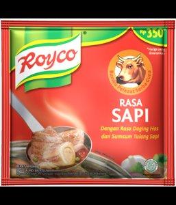 Royco Bumbu Pelezat Serbaguna Rasa Sapi 80 gram Beef flavour All Purpose Seasoning 10-ct @ 8 gr