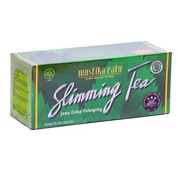 Mustika Ratu Slimming Tea 60 gram Jamu Celup Pelangsing 30 ...