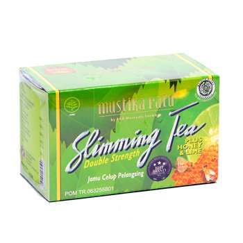 Mustika Ratu Slimming Tea Plus Honey and Lime 30 gram Jamu Celup Pelangsing 15-ct @ 2 gr