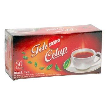 Sosro Teh Celup Asli 100 gram Teh hitam original black tea bags 50-ct @ 2 gr