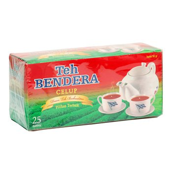 Bendera Teh Celup 50 gram Tea bags 25-ct @ 2 gr