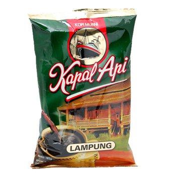Kapal Api Kopi Lampung 185 gram fatory ground coffee