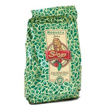 Singa Kopi java Robusta coffee 360 grams factory ground