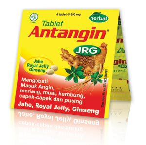 Antangin JRG Tablet/Pill Herbal Jahe royal jelly Ginseng - 5 strips