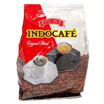 Indocafe original Blend Refill pack 180 gram Mandailing Arabica Robusta instant coffee