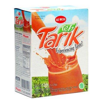Miwon teh tarik  125 gram instan powder Pulled Tea 5-ct @ 25 gr