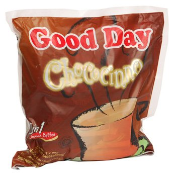 Good Day Chococinno 3 in 1 chocolate flavour  600 gram instant coffee 30-ct @ 20 gr