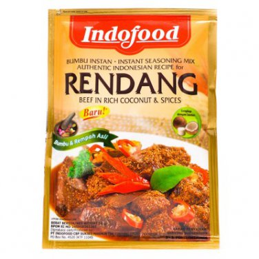 Indofood Bumbu Special Rendang 50 gram Instant Seasoning Mix for Beef in Rich Coconut & Spices
