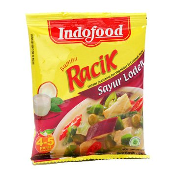 Indofood Bumbu Racik Lodeh 20 gram Instant Seasoning for Vegetable in Coconut Stew