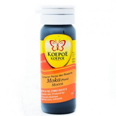Koepoe-Koepoe Food Flavoring Aroma Pasta Mocca 30ml Flavor and colorant mixture