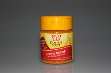 Koepoe-Koepoe Herbs and Spices Kunyit Bubuk 25 gram Turmeric Powder