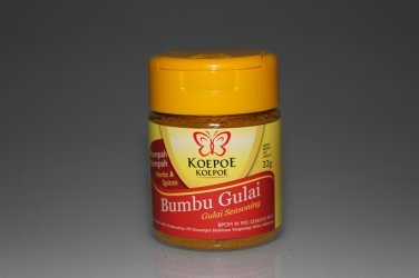 Koepoe-Koepoe Herbs and Spices Gulai Bubuk 22 grams Seasoning Powder