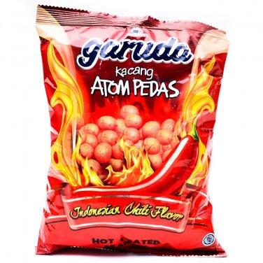 Garuda Kacang Atom Pedas 250 gram hot coated peanuts Indonesiah Chili favour