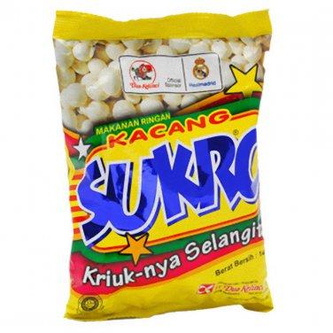 Dua Kelinci Kacang Sukro original 140 gram (4.9 Oz) Coated Peanut Original Taste