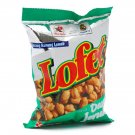 Dua Kelinci Lofet 80 gram (2.8 Oz) low calorie Shelled peanuts kaffir-lime leaves Flavor