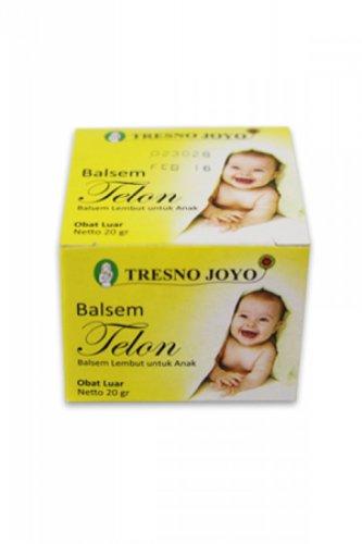 Tresno Joyo Telon Ointment 20 Gram (0.70 Oz) - Soft Balm for Baby and Children (Pack of 4)