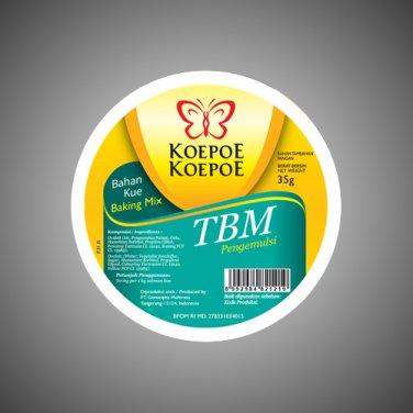 Koepoe-Koepoe Baking Mix TBM 35 gram emulsifiers