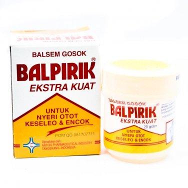 Balpirik Ekstra Kuat Kuning- Extra Strong Yellow Balm , 20 Gram