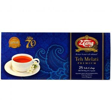 2Tang Jasmine premium tea bags 50 gram - 2 Tang teh celup melati Premium 25-ct @ 2 gr