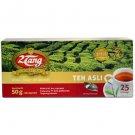 2Tang Black tea bags 50 gram - 2 Tang teh celup Asli 25-ct @ 2 gr