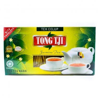 Tong Tji Teh Celup Melati Jasmine tea 100-ct @ 2 gr, 200 gram