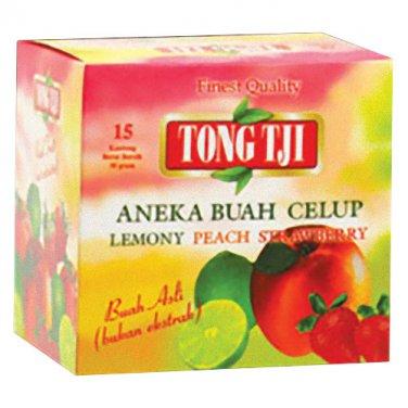 Tong Tji Aneka Buah Celup 15-ct, 30 Gram