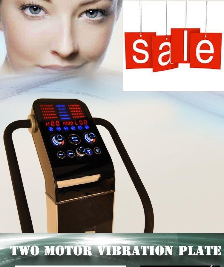 Pro series dual motor 1500w whole body power vibe for Gforce professional dual motor whole body vibration machine
