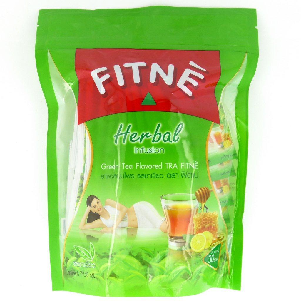 Fitne Herbal Infusion Green Tea & Senna Slimming Tea 30 Bags
