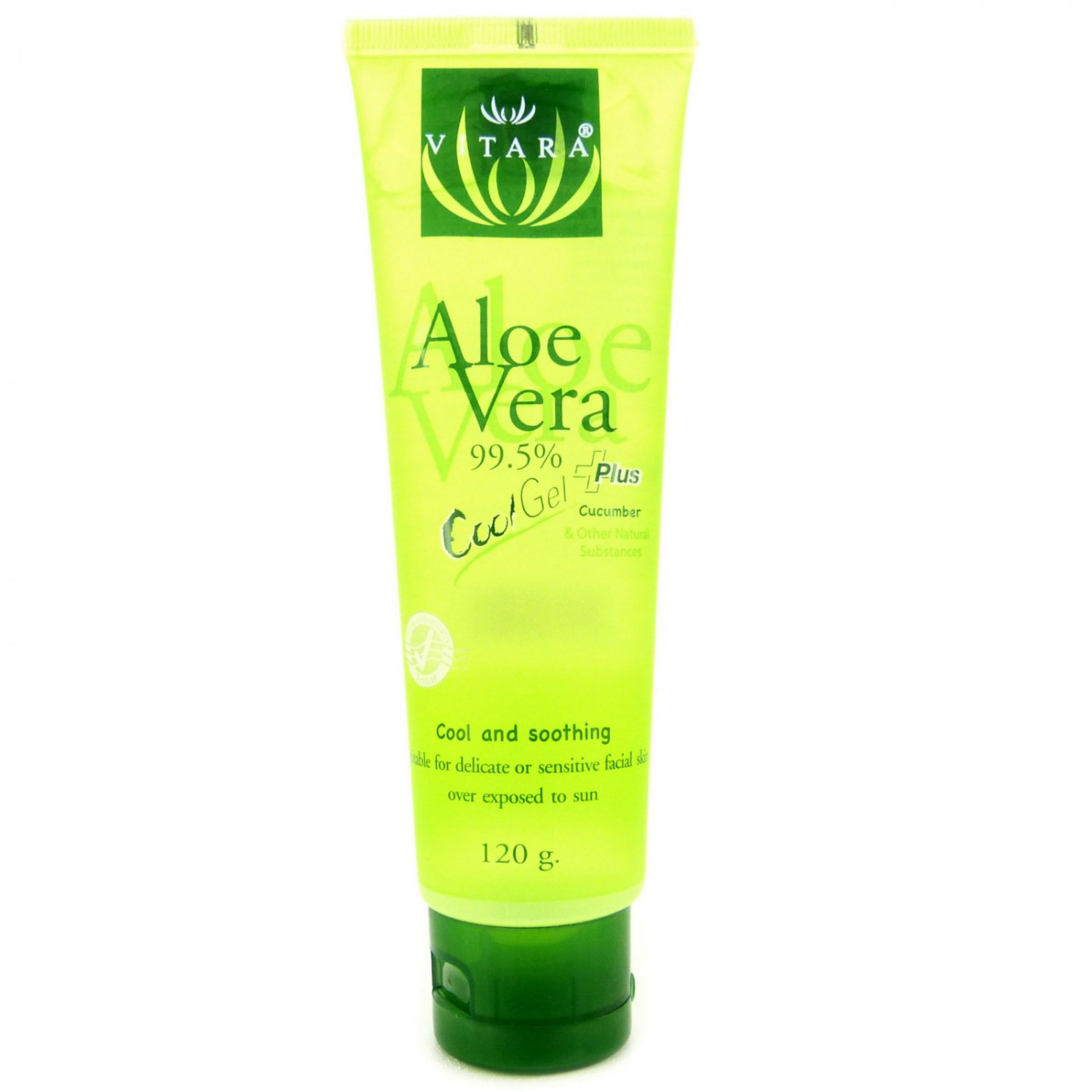 Vitara Aloe Vera Cool Plus Gel for Facial Sunburn 120g