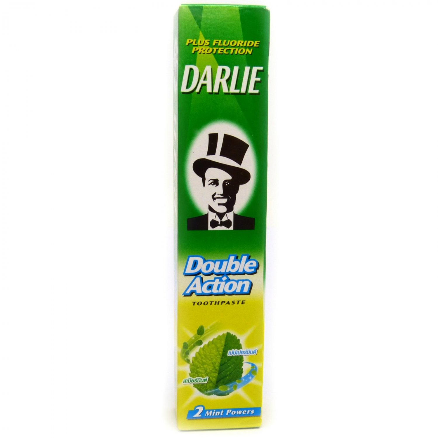 Darlie Double Action Fluoride Toothpaste 2 Mint Powers 35g (travel size)