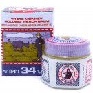 White Monkey Holding a Peach Balm 18 grams