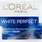 L'Oreal White Perfect Fairness Revealing Soothing Night Cream 50ml