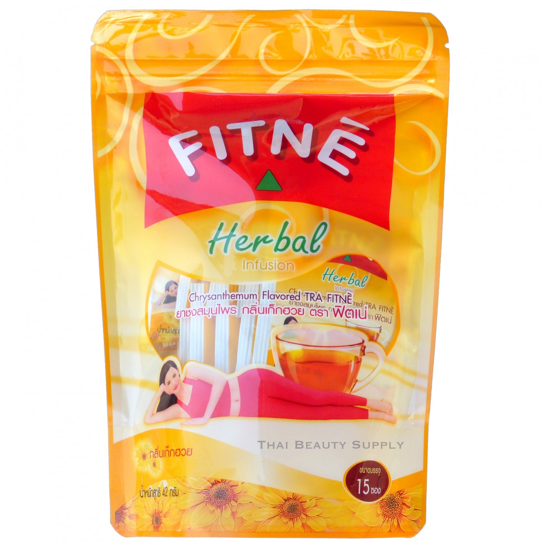Fitne Tea Herbal Chrysanthemum and Senna 15 Teabags