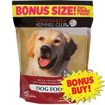Greenbrier Kennel Club Bite Size Dry Dog Food, 19.8-oz. Bags