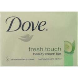 DOVE BAR SOAP GREEN FRESH TOUCH 135G #GM