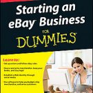 Starting an Ebay Business for Dummies by Marsha Collier (2011, Paperback)