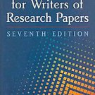 MLA Handbook for Writers of Research Papers (2009, Paperback)