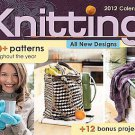 Knitting 2012 Calendar: 100+ Patterns Throughout the Year by Accord...