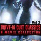 Drive-In Cult Classics 2 (DVD, 2008, 4-Disc Set)