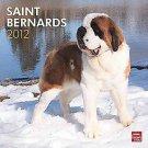 Saint Bernards 2012 Calendar by Brown Trout Publishers (2011, Calendar)