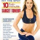 Denise Austin - Hit the Spot: 10-Five Minute Target Toners (DVD, 2007)