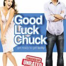 Good Luck Chuck (DVD, 2008, Unrated - Widescreen)