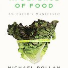 In Defense of Food: An Eater's Manifesto by Michael Pollan (2009, Paperback, ...