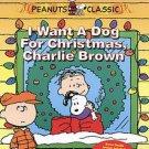 I Want a Dog for Christmas, Charlie Brown (DVD, 2004)