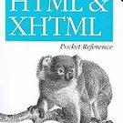 HTML and XHTML Pocket Reference by Jennifer Niederst Robbins (2009, Paperback)