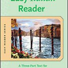 Easy Italian Reader: A Three-Part Text for Beginning Students by Riccarda Sag...