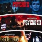 Psycho II/Psycho III/Psycho IV: The Beginning (DVD, 2007, 2-Disc Set, Univers...